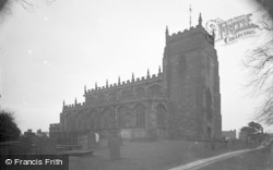 Malpas, St Oswald's Church c.1930