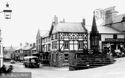 Malpas, The Cross c.1955