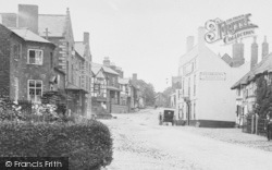 Malpas, The Red Lion Hotel, And The Crown 1898