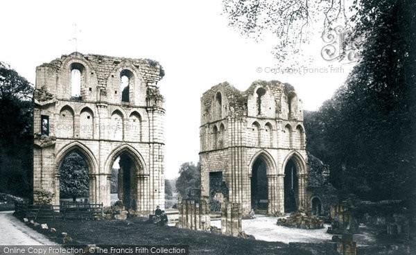 Maltby, Roche Abbey 1893