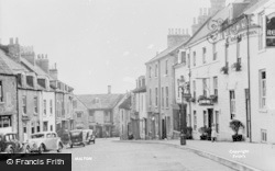 Malton, Market Street c.1955