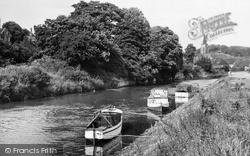 Malton, River Derwent c.1955