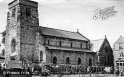 Malton, St Michael's Church c.1955