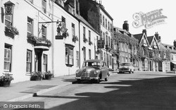 Malton, The Green Man And King's Head Hotels c.1960