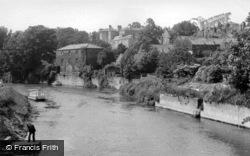 The River Derwent c.1950, Malton