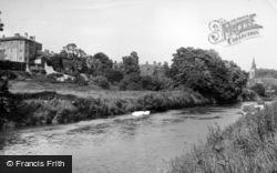 Malton, The River Derwent c.1955