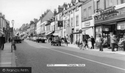 Malton, Wheelgate c.1960