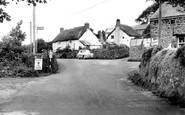 Manaton, Forge Corner c1960