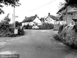 Manaton, Forge Corner c.1960