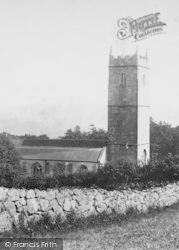 Manaton, St Winifred's Church 1907