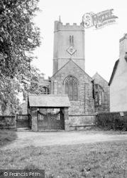 Manaton, The Church And Lychgate c.1955