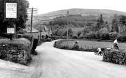 Manaton, the Moors c1955