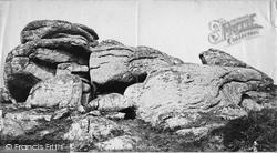 Manaton, The Tor c.1871
