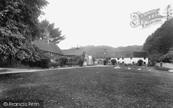 Manaton, Village Green 1922