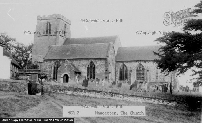 Photo of Mancetter, The Church c.1960