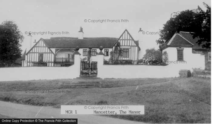 Photo of Mancetter, The Manor c.1960