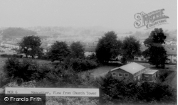 View From Church Tower c.1960, Mancetter