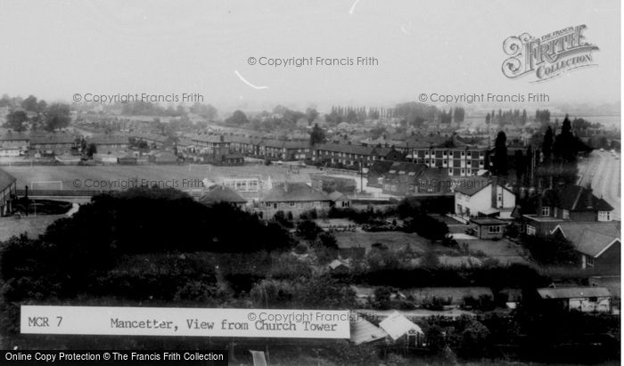 Photo of Mancetter, View From Church Tower c.1960