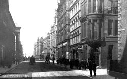 Manchester, Corporation Street c.1885