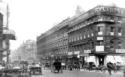 Manchester, Market Street 1886