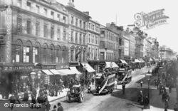 Manchester, Market Street c.1885