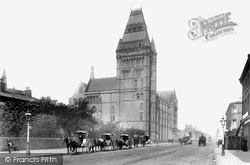 Manchester, Owens College, Oxford Road 1895