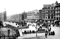 Manchester, Piccadilly 1887