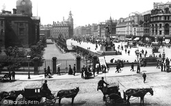 Manchester, Piccadilly 1889