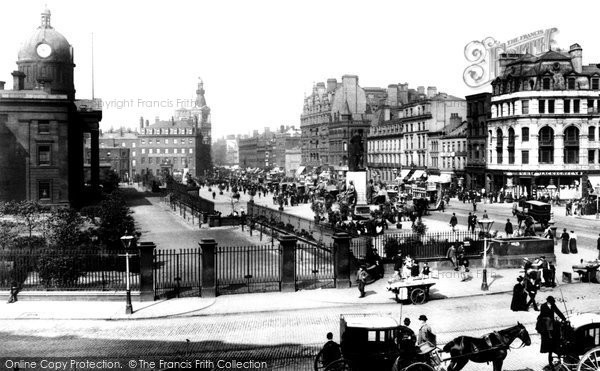 Manchester, Piccadilly 1895