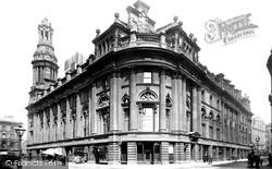 Manchester, Royal Exchange 1886