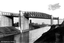 Manchester Ship Canal, Latchford Bridge 1894