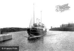Manchester Ship Canal, Latchford, The Fairy Queen 1894