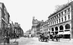 Manchester, St Ann's Square c.1876