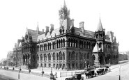 Manchester, the Assize Court 1886