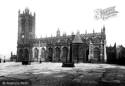 Manchester, The Cathedral 1889