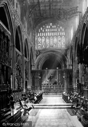 Manchester, The Cathedral Choir c.1885