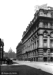 Manchester, The Grand Hotel c.1885