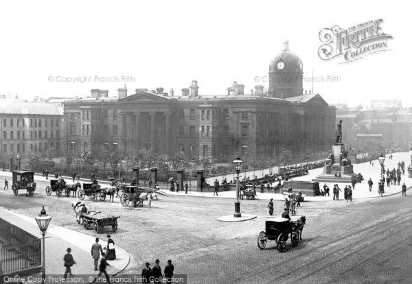 Manchester, the Royal Infirmary c1885