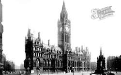 Manchester, Town Hall 1889