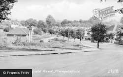 Mangotsfield, Mangotsfield Road c.1955