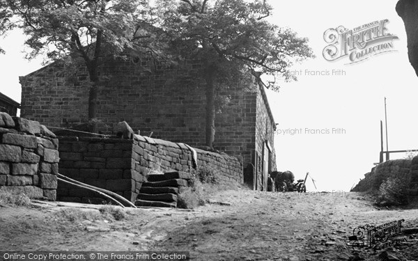 Mankinholes, the Youth Hostel c1955