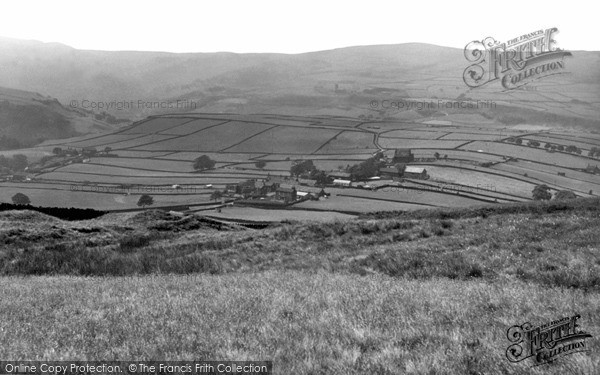Photo of Mankinholes, Village From The Moor c.1955