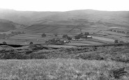 Mankinholes, Village from the Moor c1955