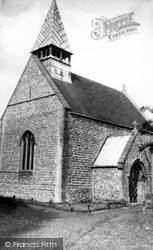 Manningford Bruce, St Peter's Church c.1955