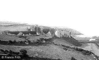 Manorbier, Castle 1890
