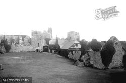 Manorbier, Castle 1893