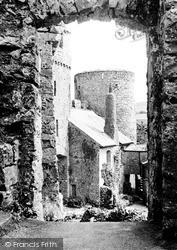 Castle c.1955, Manorbier