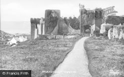 Manorbier, Castle From Approach 1890