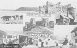 Manorbier, Composite c.1955