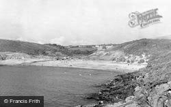 Manorbier, The Beach c.1960